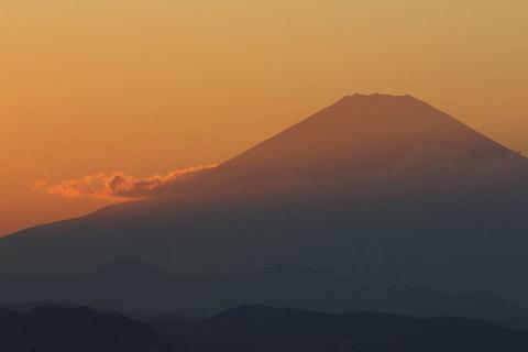 151012夕富士